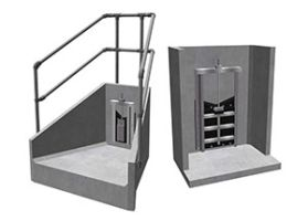 Precast Headwalls with Penstocks