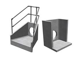 Standard Precast Concrete Headwalls