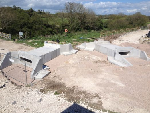 Culvert Sections, Wingwalls and Header Beam