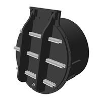 1000mm PTK-BS Push Fit Flap Valve