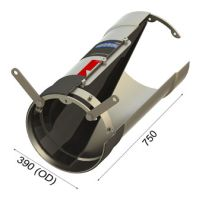 WaStop SS400mm