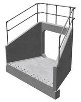 CSP20 L Culvert Headwall