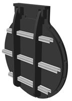 900mm Circular Flap Valve