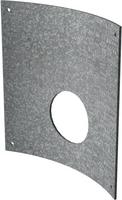 300mm Galvanised Steel Curved Orifice Plate