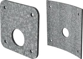 Galvanised Steel Orifice Plates