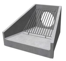 Headwalls with Gratings, Outfall Grilles and Trash Screens