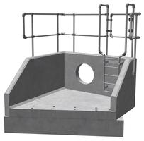 RSFA20B 01 2390 LH Angled Headwall