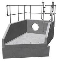 RSFA20B 01 3330 LH Angled Headwall