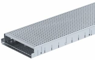 Facade Channel V-E Perforated RB250, H55/H90