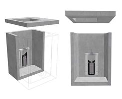 Precast Concrete Penstock Manhole Chambers