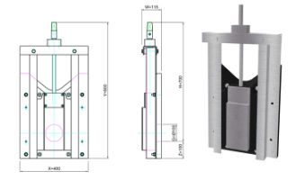100mm HDPE Penstock