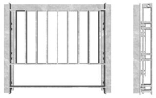 SFA Outfall Safety Grille Type 3