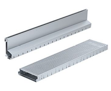Steel Slot and Facade Drainage Channel