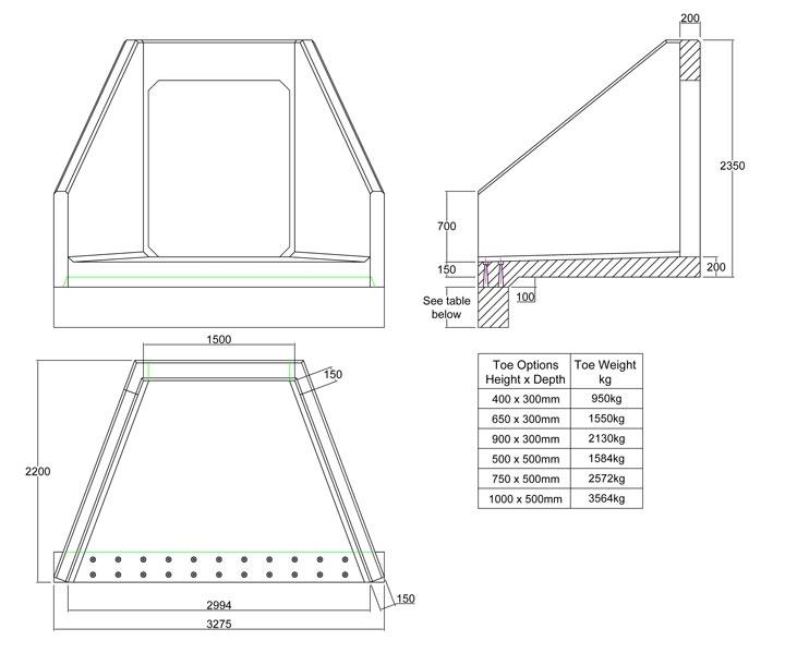 CSP15 K Culvert Headwall | Althon