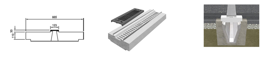 Standard Stilpro 600 line drawing