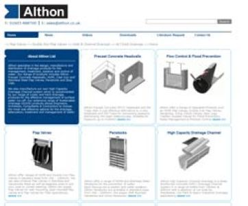 Althon Launch New Website