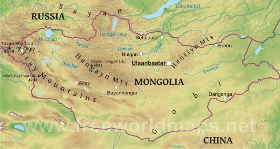 Althon Supplies to Mongolia