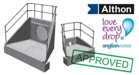 Anglian Water Approved Headwalls