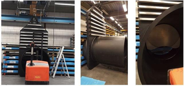 1200mm Inline Penstocks