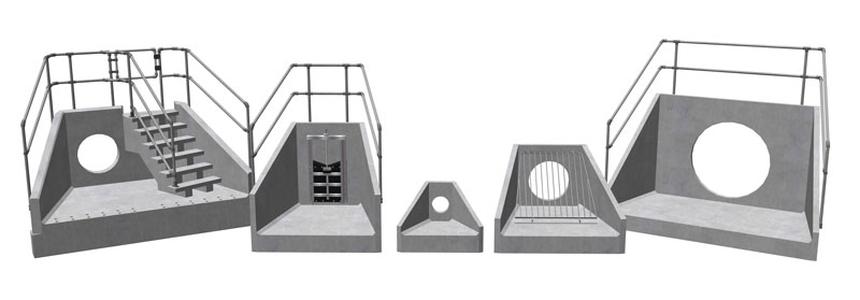 Precast Concrete Headwall Sizes